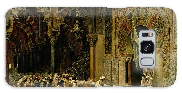Islam Galaxy Case - Interior Of The Mosque At Cordoba by Edwin Lord Weeks