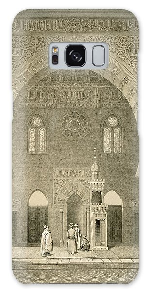 Islam Galaxy Case - Interior Of The Mosque Of Qaitbay, Cairo by French School