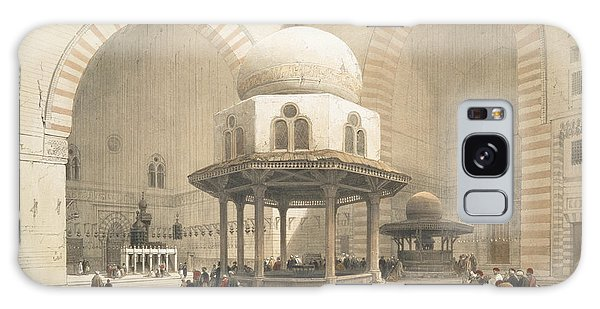 Islam Galaxy Case - Interior Of The Mosque Of The Sultan El by David Roberts