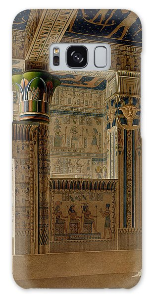 Decorative Galaxy Case - Interior View Of The West Temple by Le Pere