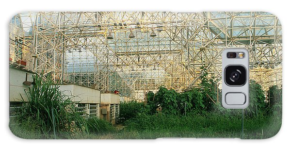Ecosystem Galaxy Case - Internal View Of Biosphere 2 by Martin Bond/science Photo Library