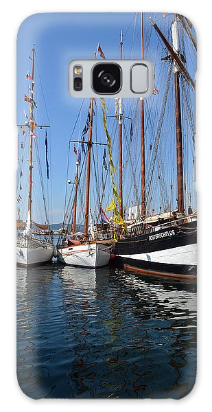 International Sailing Festival In Bergen Norway 2 Galaxy Case
