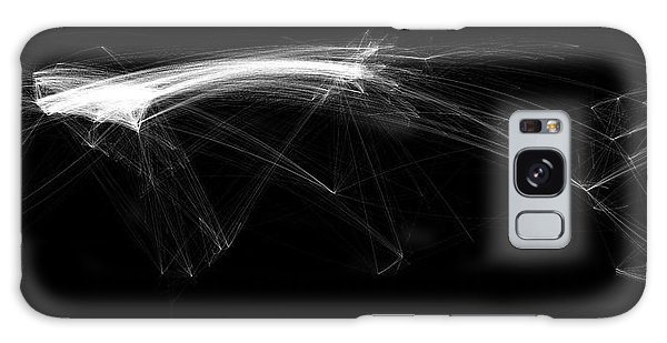Usa Map Galaxy Case - Internet Connection Map by Chris Harrison, Cmu/science Photo Library