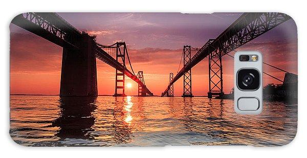 Into Sunrise - Bay Bridge Galaxy Case