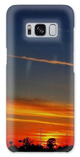 Into The Bluest Sky Galaxy Case