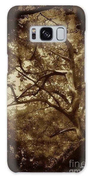 Into The Dark Wood Galaxy Case by Dan Stone