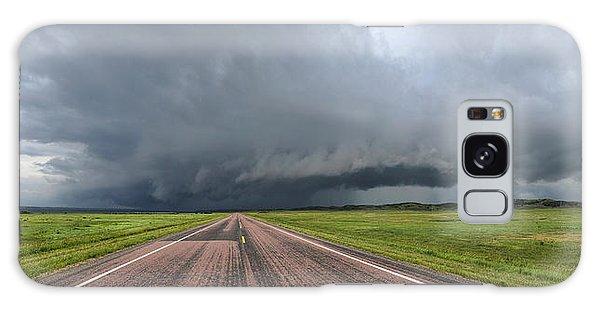 Into The Storm Galaxy Case by Sebastien Coursol