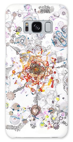 Intracellular Diversion Galaxy Case by Regina Valluzzi