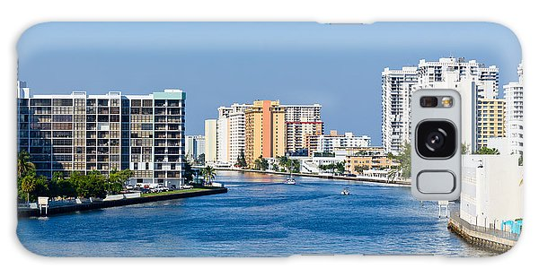 Intracoastal Waterway In Hollywood Florida Galaxy Case