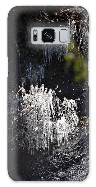 Intriguing Icicles In Yosemite Galaxy Case by Debra Thompson