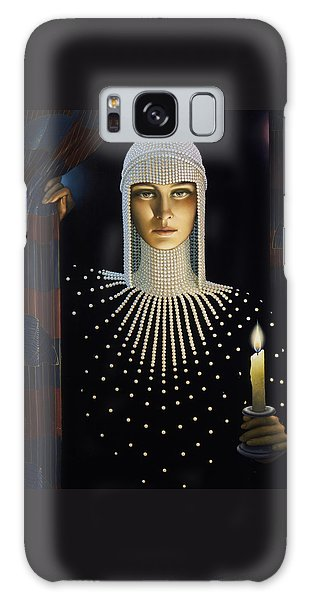 Pearls Galaxy Case - Intrigue by Jane Whiting Chrzanoska