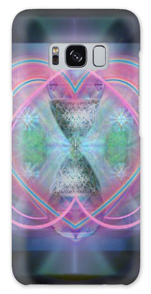 Intwined Hearts Chalice Enveloping Orbs Vortex Fired Galaxy Case