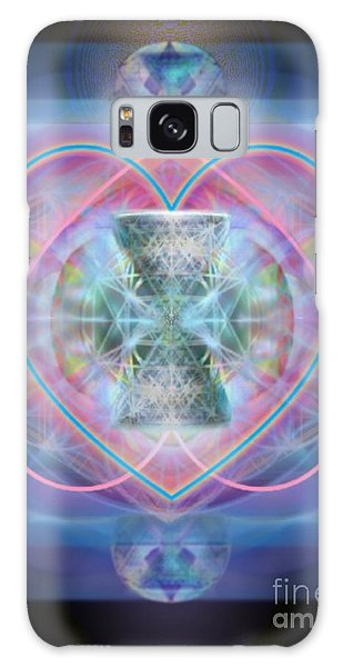 Intwined Hearts Chalice Wings Of Vortexes Radiant Deep Synthesis Galaxy Case