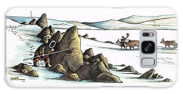 Inuit Waiting Galaxy Case