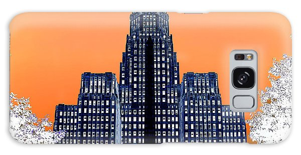 Inverted Buffalo City Hall Galaxy Case by Jim Lepard