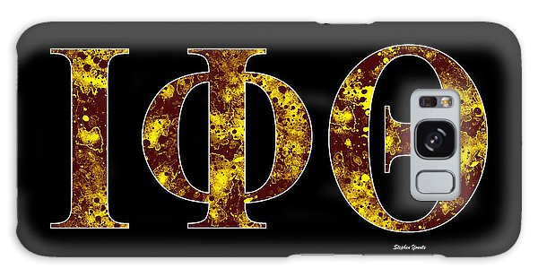 Iota Phi Theta - Black Galaxy Case by Stephen Younts