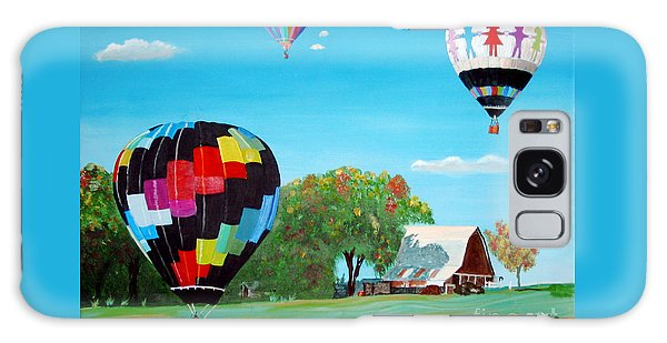 Iowa Balloons Galaxy Case