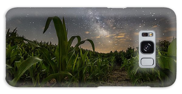 Iowa Corn Galaxy Case by Aaron J Groen