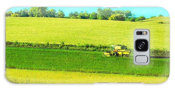 Iowa Farm Land #3 Galaxy Case