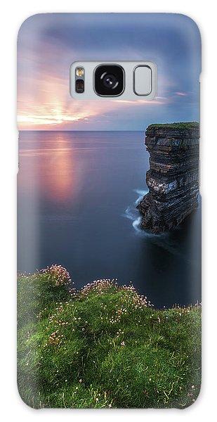 Atlantic Ocean Galaxy Case - Ireland - Downpatrick Head by Jean Claude Castor