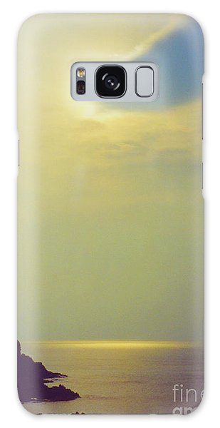 Ireland Giant's Causeway Ethereal Light Galaxy Case