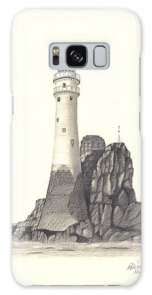 Ireland Lighthouse Galaxy Case by Patricia Hiltz