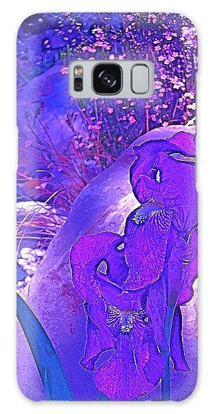 Iris 2 Galaxy Case by Pamela Cooper