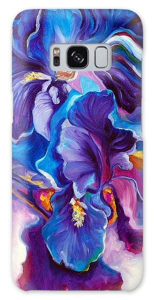 Iris Abstract The Shadow Of Your Smile Galaxy Case