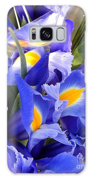 Iris Blues In New Orleans Louisiana Galaxy Case