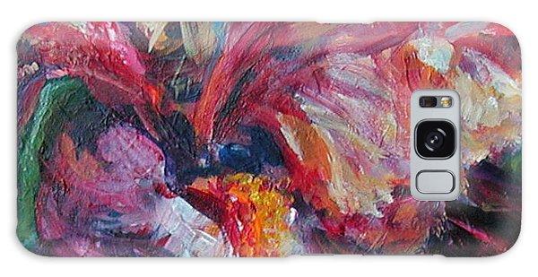 Iris - Bold Impressionist Painting Galaxy Case