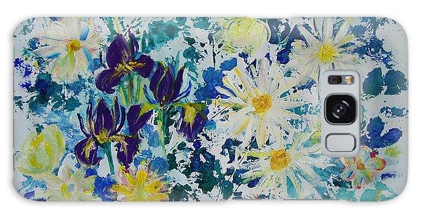 Iris Bouquet Galaxy Case