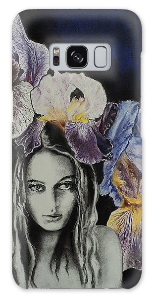 Iris Galaxy Case by Carla Carson