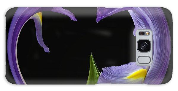 Iris Circled Galaxy Case by Cyndy Doty