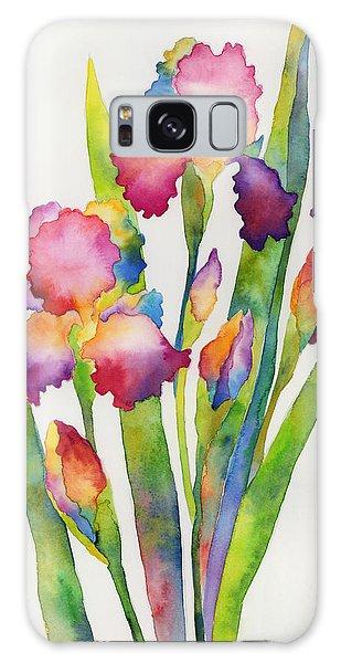 Bloom Galaxy Case - Iris Elegance by Hailey E Herrera