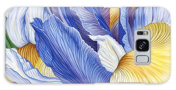 Iris Galaxy Case by Jane Girardot