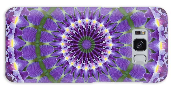 Iris Kaleidoscope  Galaxy Case