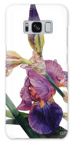 Iris Rhapsody Galaxy Case by Greta Corens