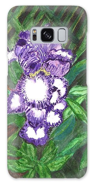 Iris Galaxy Case by Vickie G Buccini