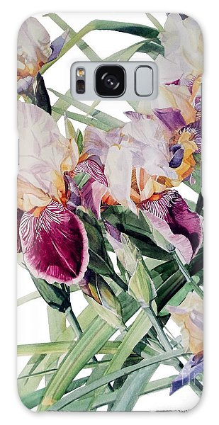 Iris Vivaldi Spring Galaxy Case by Greta Corens