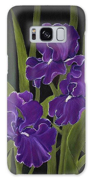Irises Galaxy Case