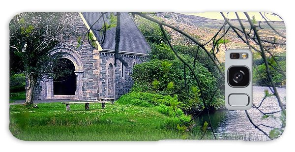 Irish Chapel Galaxy Case by Ranjini Kandasamy