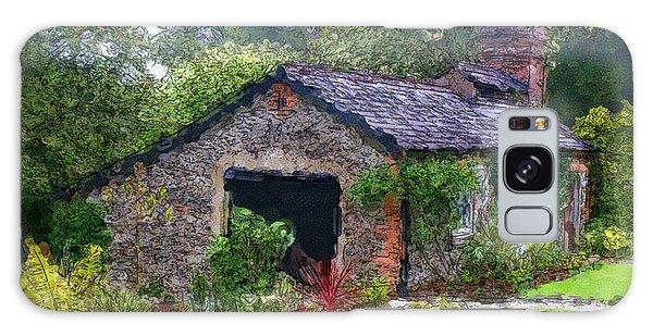Irish Cottage Galaxy Case