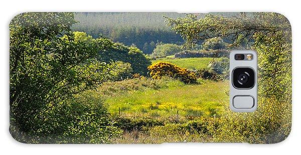 Irish Countryside In Spring Galaxy Case