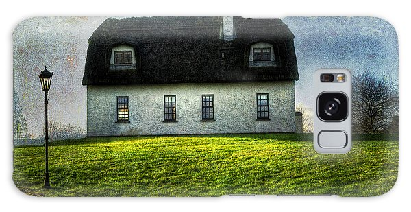 Irish Thatched Roofed Home Galaxy Case