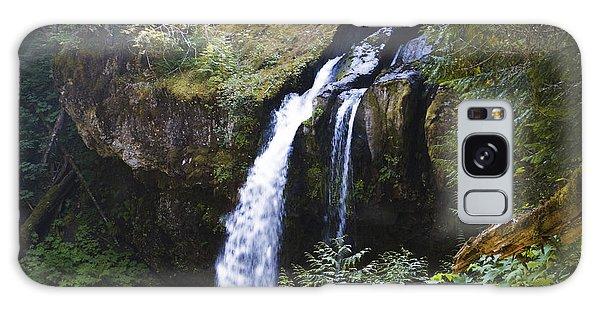 Iron Creek Falls Galaxy Case