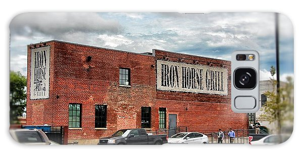Iron Horse Grill Building Galaxy Case