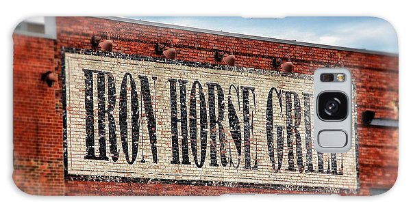 Iron Horse Grill Sign Galaxy Case