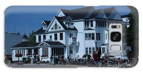 Iroquois Hotel Mackinaw Island Galaxy Case by Bill Woodstock
