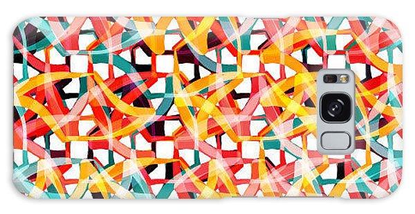 Bricks Galaxy Case - Irregular Chaotic Seamless Pattern by Alex Landa