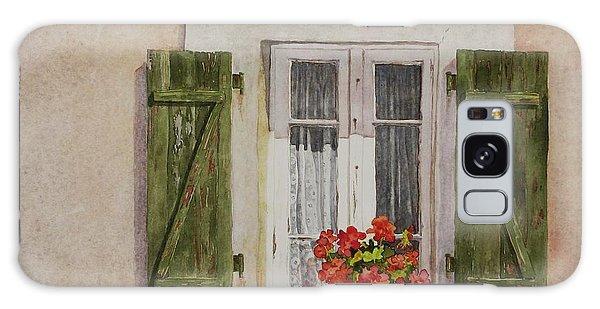 Irvillac Window Galaxy Case by Mary Ellen Mueller Legault
